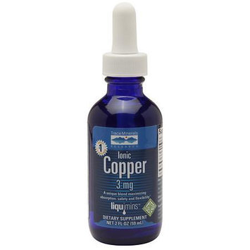 Liquid Ionic Copper Trace Minerals 2 oz Liquid