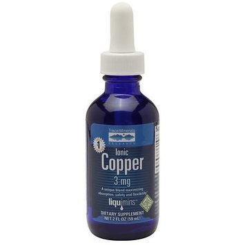 Liquid Ionic Copper Trace Minerals 2 oz Liquid