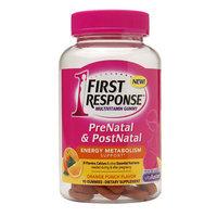 First Response PreNatal & PostNatal Multivitamin Gummy Orange Punch 90 Gummies