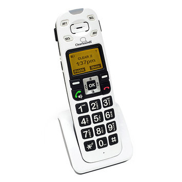 ClearSounds A400E Amplified Talking Cordless Phone Expansion Handset