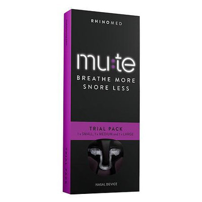 Mute Breathe More, Snore Less, Trial (sm, Med, Lg), 1 ea