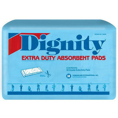 Dignity Extra Duty Double Pads Bag 6 Bags Case
