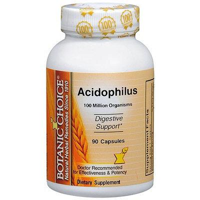 Botanic Choice Acidophilus Dietary Supplement Capsules