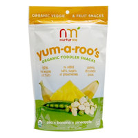 Frontier Natural Foods Frontier Natural Products 228939 Pea, Banana Pineapple Kids Snacks 6 Pack