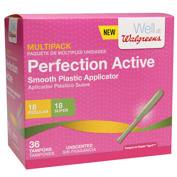 Walgreens Perfection Active Tampons Multi-Pack, 36 ea