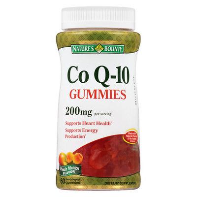 Nature's Bounty CoQ10 200 mg Gummies Peach Mango