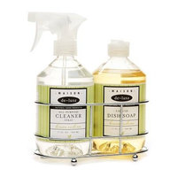 de-luxe MAISON Cleaning Caddie, Dish Soap & Spray Cleaner, Lemon Verbena