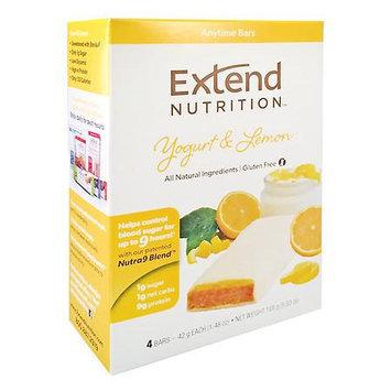 Extend Nutrition Bars, Yogurt & Lemon, 4 pk, 1.41 oz