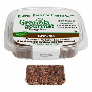 Granola Gourmet Brownie ORIGINAL Energy Bars