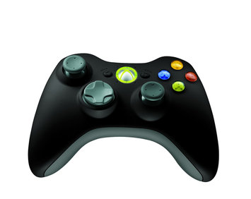 Microsoft Corp. Microsoft Xbox 360 Wireless Controller For Windows Black