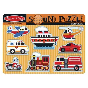 Melissa and Doug Vehicles Sound Puzzle Ages 2+