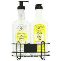Jr Watkins J.R. Watkins lemon hand soap & Lotion Sink Set