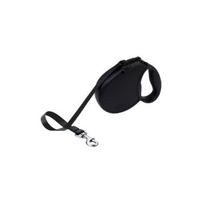 Phillips Feed & Pet Supply Flexi Freedom SoftGrip Retractable Dog Leash in Black, Small