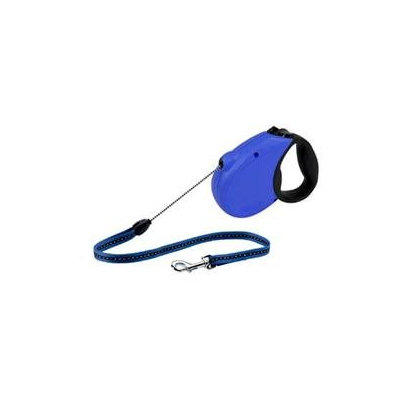 Flexi Freedom SoftGrip Retractable Dog Leash in Blue, Medium