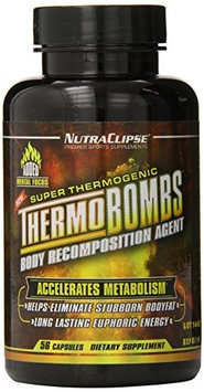 NutraClipse ThermoBombs 56 ct