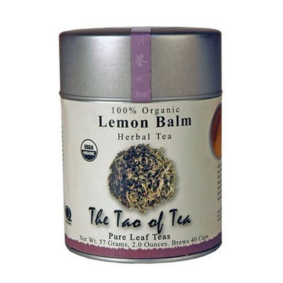 The Tao of Tea, Lemon Balm Herbal Tea, Loose Leaf, 2.0-Ounce Tins (Pack of 3)