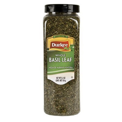 Durkee Basil Leaves, Whole, 5.5-Ounce Packages (Pack of 3)