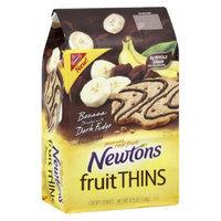 Newtons Fruit Thins Banana Dark Fudge Cookies 8.75 oz