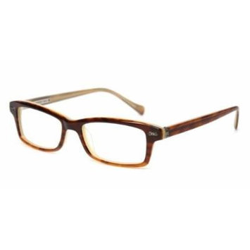 Lucky Eyewear Frame Plastic Tobbacco Horn Plastic Rectangle Cooper