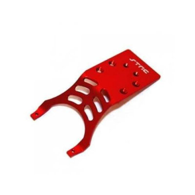 ST RACING CONCEPTS ST Racing Concepts ST3623RR Rear Skid Plate Stampede and Slash (Red)