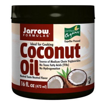 Jarrow Formulas Coconut Oil 100% Organic