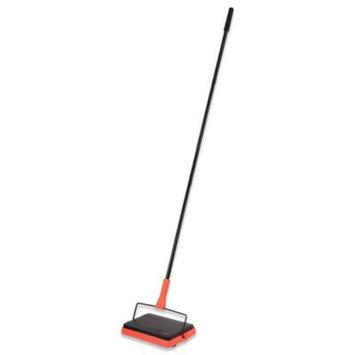Casabella Neon Carpet Sweeper - Black/Orange