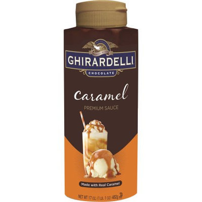 Ghirardelli Chocolate Caramel Premium Sauce