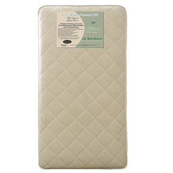 La Baby L.A. Baby Quilted Organic Cotton Crib Mattress