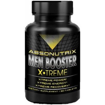 ABSONUTRIX MEN BOOSTER XTREME ENERGY RECOVERY VIRILITY STRENGTH PERFORMANCE