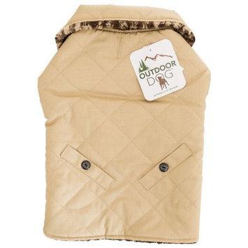 Fashion Pet Outdoor Dog Reversible Barn Dog Coat: Medium - (Fits 14