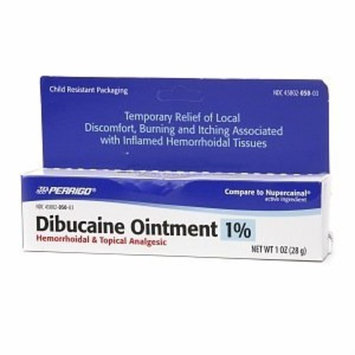 Dibucaine Ointment 1% Hemorrhoids Ointment - 1 Oz (2 Pack)