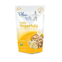 Plum Organics Fruity Fingerfuls, Banana, 0.81-Ounce Pouches (Pack of 8)