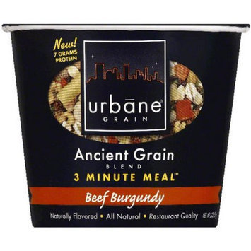 Urbane Grain Ancient Grain Blend Beef Burgundy 3 Minute Meal, 2 oz, (Pack of 6)