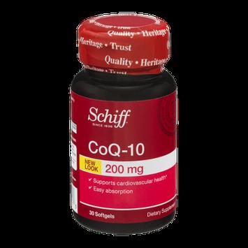 Schiff CoQ-10 Dietary Supplement Softgels 200 mg - 30 CT