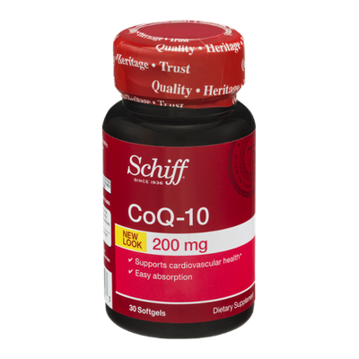 Schiff CoQ-10 Dietary Supplement Softgels 200 mg - 30 CT
