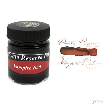 Private Reserve 66 ml Bottle Fountain Pen Ink, Vampire Red