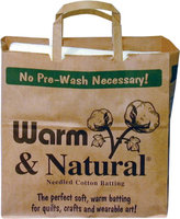 Warm & Natural Cotton Batting, Twin Size, 72
