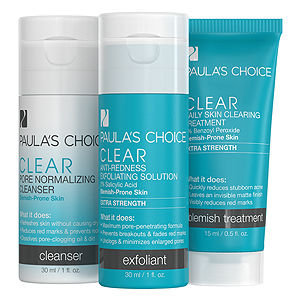 Paula's Choice Paulas Choice Clear Extra Strength Two Week Trial Kit