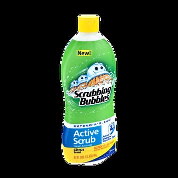 Scrubbing Bubbles Active Scrub Citrus Scent Cream Cleanser
