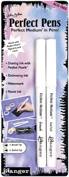Ranger RANGER Perfect Pens Set 2/Pkg Clear - RANGER INDUSTRIES INC.