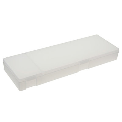 MUJI PP Double Pen Case