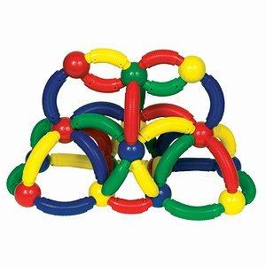Guidecraft Magneatos Jumbo Curves - 50 Pieces