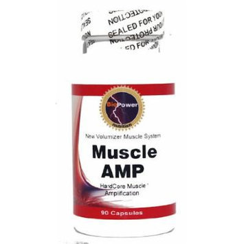 # Muscle AMP # Hard Core Muscle Amplification 90 Capsules - BioPower Nutrition