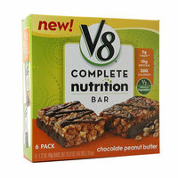 V8® Complete Nutrition Bars Chocolate Peanut Butter