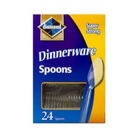 Jarden Home Brands #94 24CT Clear Plastic Spoon