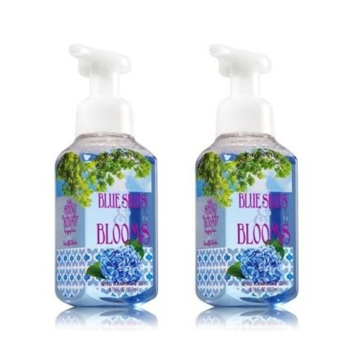 Bath & Body Works Bath&body Works Gentle Foaming Hand Soap 8.75oz. Blue Skies&blooms (Pack of 2)