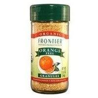 Frontier Natural Products - Orange Peel Granules Organic - 1.92 oz.
