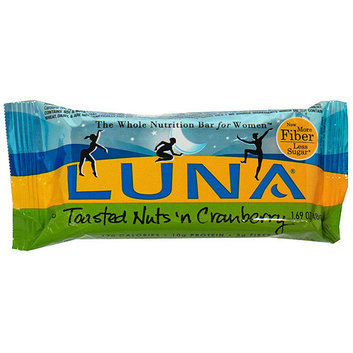 Luna Toasted Nuts 'n Cranberry Nutrition Bar