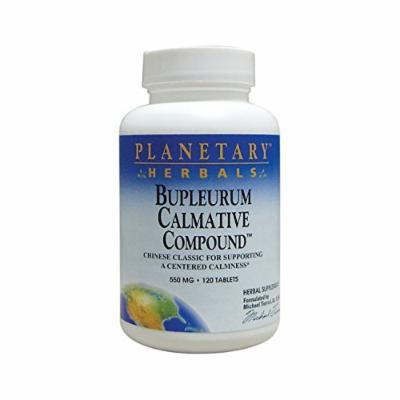Planetary Herbals Bupleurum Calmative Compound 120 Tabs