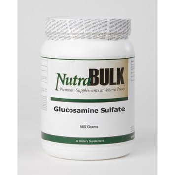 Glucosamine Sulfate - All Natural NutraBulk Powder - Supports Healthy Mobility + Flexibility +Joint Health - 100% Pharmaceutical Grade -500 grams - 1.1 Pounds